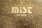 """Klang Demos Becken von Centent, Mist Series. 20"""" Ride"""