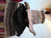 フェルトと毛糸のおしゃれ帽子