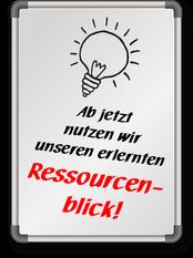 Der Ressourcenradar von DAS KREAKTIV findet ungenutzte Ressourcen