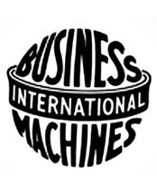 So sah das IBM Logo von 1924-1946 aus