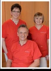 Praxisteam von Zahnarzt Dr.Christoph Berner in Schemmerhofen
