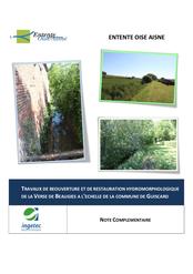 Etude du frein hydraulique à Guiscard, 2018