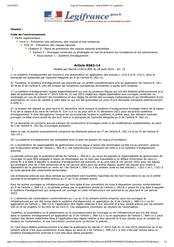 Article R562-14 du CE