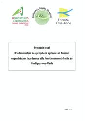 Protocole local d'indemnisation agricole de Montigny-sous-Marle, 2020