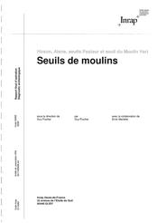 Diagnostic archéologique, INRAP, 2018