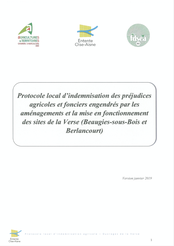 Protocole local d'indemnisation agricole de la Verse, 2020