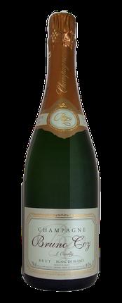Champagne Bruno CEZ à Oeuilly. Brut Blanc de Blancs
