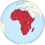 Afrika - author= Wikimedia Commons url= https://de.wikipedia.org/wiki/Datei:Africa_on_the_globe_(white-red).svg