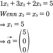 Berechnung der Normalenform einer Ebene
