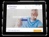 Website der Zahnarztpraxis Dr. Martin Ostermeier in Regensburg-Nittendorf