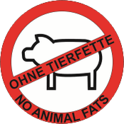 Ohne Tierfett / No Animal Fats