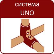 Торговая система UNO: металлическая труба и соединители для создания торгового и выставочного оборудования