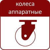 колесные опоры для оборудования и аппаратов
