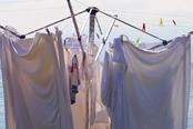 mueden.de, Preisliste, Waschen, Bild von Wäscheständer im Freien