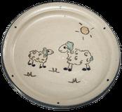 Kinderteller Motiv Schafe