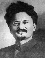 Lev Davidovitj Trotskij  (1879 - 1940)
