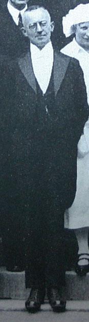 Rektor Peters 1926