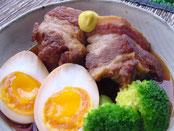 豚の角煮:一品料理
