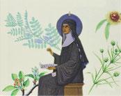 Hildegarde de Bingen (1098-1179).