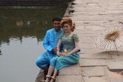 Brautpaar Angkor Wat