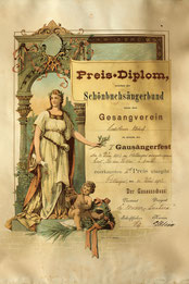 1903: Die erste Auszeichnung