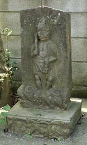 六所神社の庚申塔