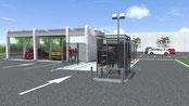Terrain pour station de lavage auto