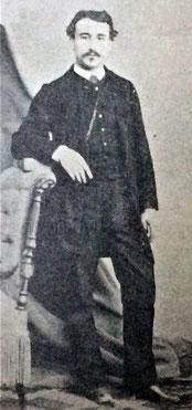 Fig.1 : Clément Ader, jeune ingénieur