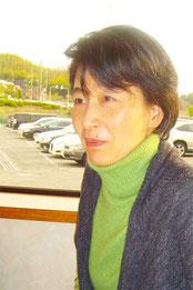 和紙造形作家 小林順子さん写真
