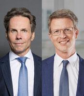 Stephan Heid und Martin Niederhuber freuen sich über die Kooperation im Vergabe- und Umweltrecht.