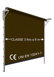 Serrande Certificate CE