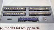 """H0 Märklin 4228 Wagen-Set """"Rheingold"""" DR"""