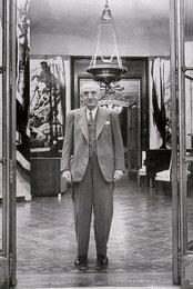 Juan March, fotografiado para la revista Life, en 1948.