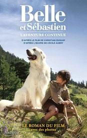 livre DVD Belle et Sébastien, Mehdi el Glaoui, Cécile Aubry, Félix Bossuet, Christian Duguay