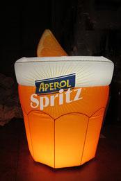 Gonfiabile Aperol Spritz, Gonfiabili Pubblicitari