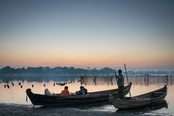Lac Taungthaman,Pont U Bein,Sagaing,Mingun,