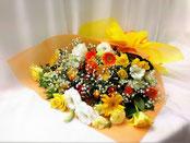 花束4000 黄オレンジ系