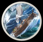 schip in storm