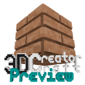 3D CreatorCraft Preview Logo