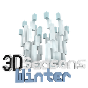 3D Seasons Winter Logo