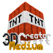 3D CreatorCraft Medium Logo