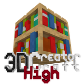 3D CreatorCraft High Logo