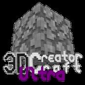 3D CreatorCraft Ultra Logo