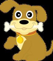 Grafik für Hunde