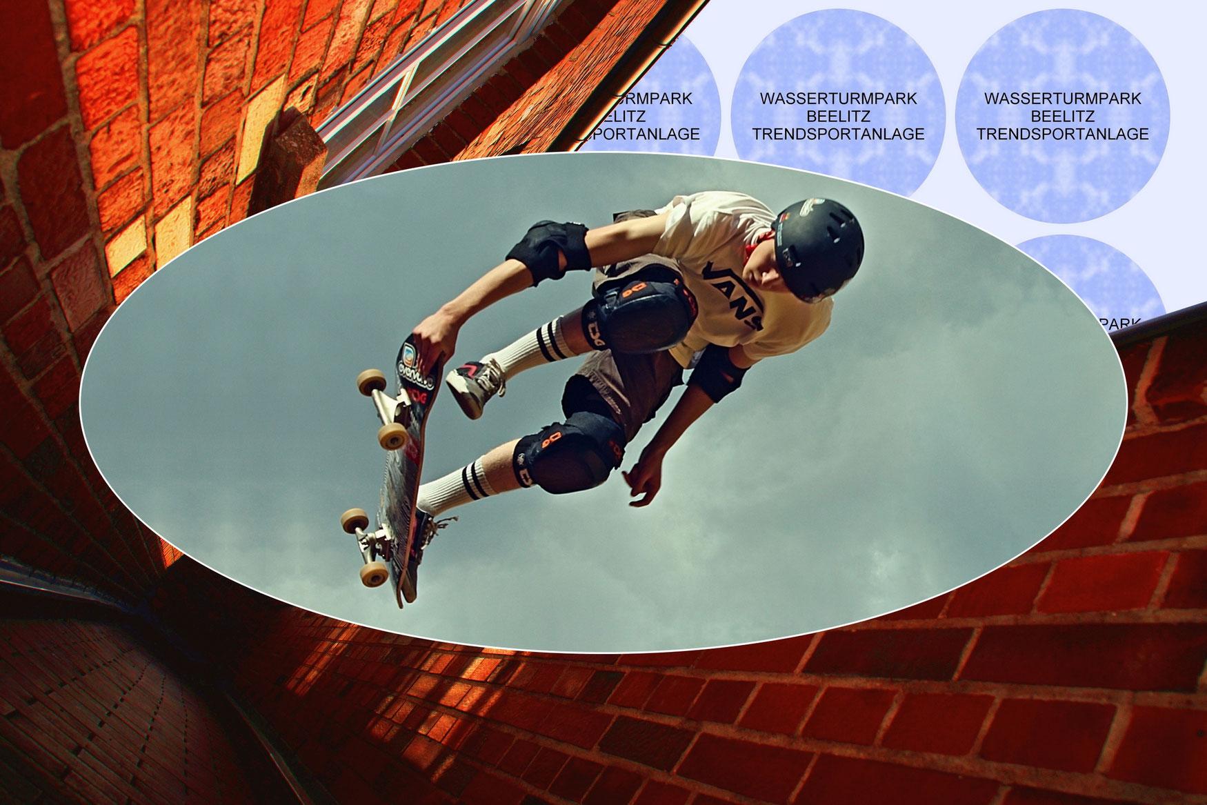 Trendsportanlage im Wasserturmpark Beelitz