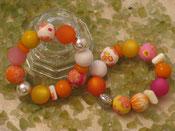 Pfirsich Melba Armbänder
