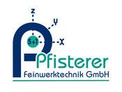 Pfisterer Feinwerktechnik - Web-Logo