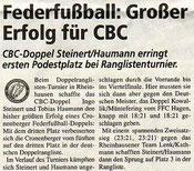 Cronenberger Woche Bericht vom 17.06.2005 DRLT
