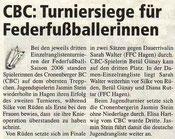Cronenberger Woche Bericht vom 06.10.2006 ERLT