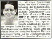 Cronenberger Anzeiger Bericht vom 02.03.2004